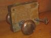Cast brass railroad rimlatch set with key (side 1) 201-082709-3-1-1_0