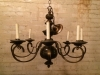 Brass and wood chandeliers #8034.jpg