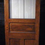 Oak office door 6548