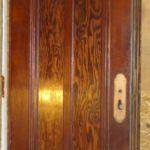 Entry door, 2 vertical panels, no glass