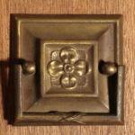 Square brass pull 201-100507-1