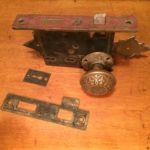 Victorian double keyhole set 201-8426-2.2