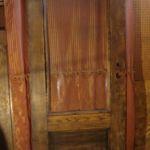 3/4-view Victorian entry door
