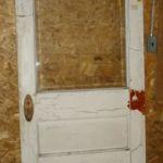 Bevel-glass entry door