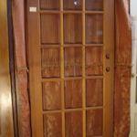 Newer 15-lite Pine door 5456
