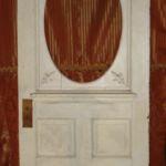 Victorian door, missing oval glass