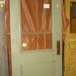 2/3-view beveled glass door with egg-and-dart trim
